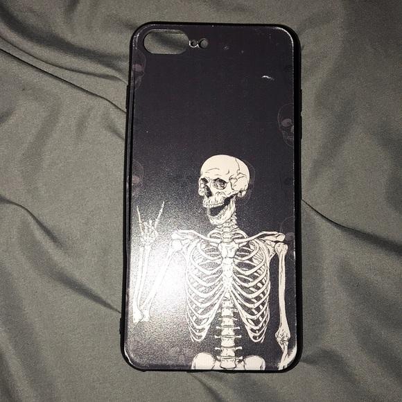 iPhone 7 Plus skeleton phone case